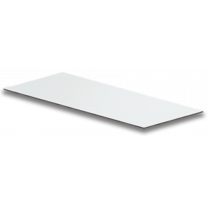 HPL Fassadenplatte (305 x 130 cm) in weiß