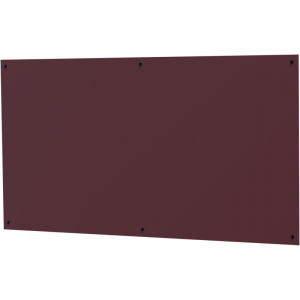 HPL Designpaneele (für unsere Gartenhäuser) in bordeaux-rot