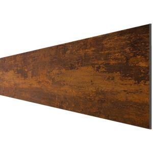 """HPL Steckzaunlamelle """"Marseille"""" Corten-Stahl in 32,9 x 179,2 cm"""