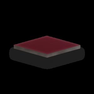 HPL-Platte Handmuster in bordeaux-rot